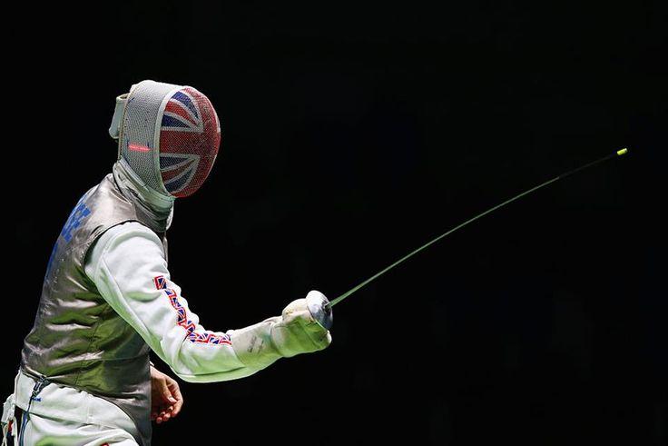 Richard Kruse Team GB's Olympic Fencer