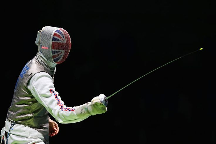 Richard Kruse Team GB's Olympic Fencer