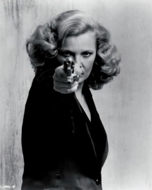 Gena Rowlands as Gloria directed by John Cassavetes, 1980haunted by storytelling