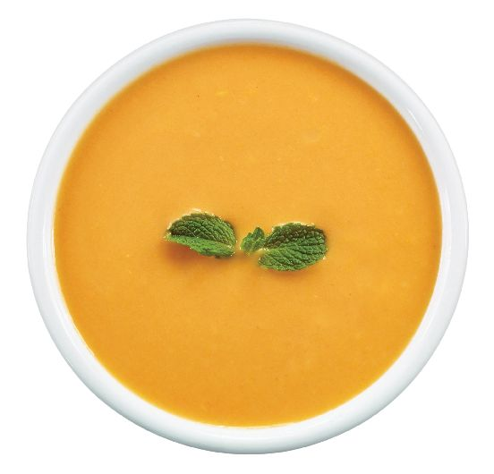 Cream of Calabaza (West Indian Pumpkin) Soup with Coconut Milk, Coconut Oil, Heavy Cream & Ginger from #YummyMarket