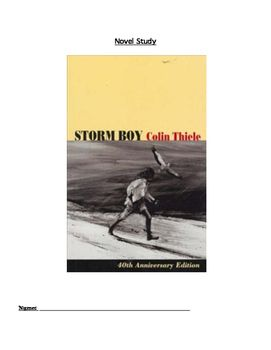 Comprehension questions relating to the novel Storm Boy. - $5