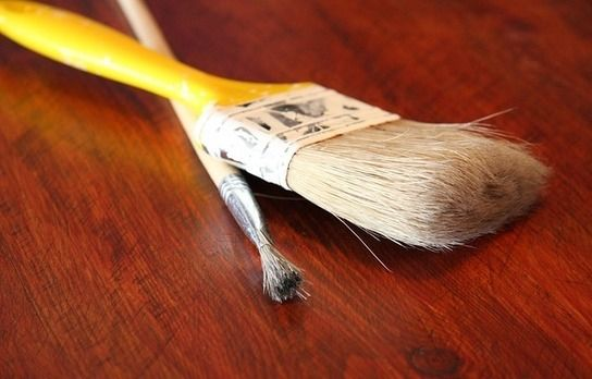 Peinture suédoise - Fabrication maison - à base de farine