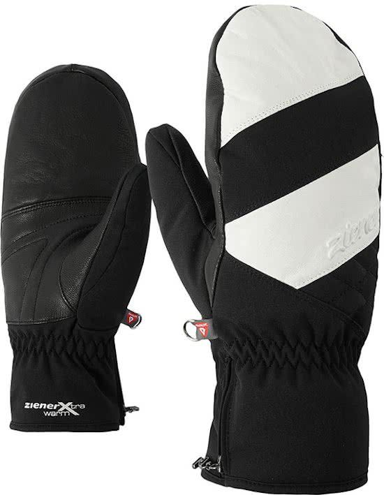 Ziener katelin AS (R) PR Mitten lady glove black white