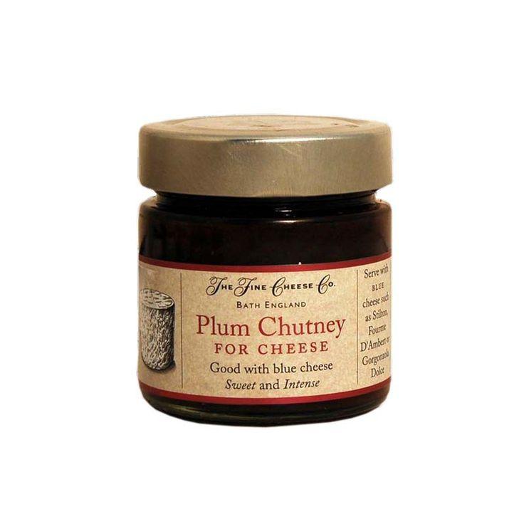 El chutney de ciruela es un chutney dulce e intenso ideal para maridar con quesos azules. #salsasgourmet