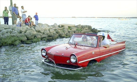 The Amphicar is the world's most common amphibious automobile, a machine that works as well in the water as it does on land. Amuse your friends. Scare the local fish. Whatever. But most of all, drive an Amphicar just once, so you can understand why no one ever needs a car that doubles as a boat. Roads are dry for a reason. Also, former President Lyndon Johnson drove one. Enough said.