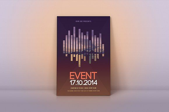 Event Flyer Template by M K GRAPHICS on @creativemarket