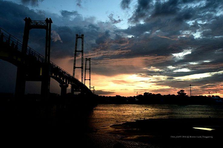 Jembatan pulau kumala tenggarong kaltim