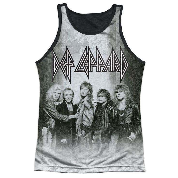 "Checkout our #LicensedGear products FREE SHIPPING + 10% OFF Coupon Code ""Official"" Def Leppard/the Band-adult Poly Tank Top T- Shirt - Def Leppard/the Band-adult Poly Tank Top T- Shirt - Price: $24.99. Buy now at https://officiallylicensedgear.com/def-leppard-the-band-adult-poly-tank-top-shirt-licensed"