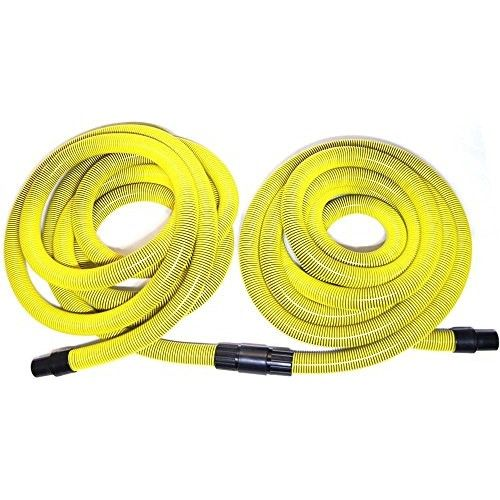 """1.5 x 600 Dustless Pro Industrial Vacuum Hose   Features: -Cleans liquid and slurry from floor.-Fits the dustless pro industrial slurry vacuum.-durable rubber squeegee blade stands up to jobsite mess.-Made in the USA. Includes: -Includes: 1.5 Squeegee floor tool with 55\"""" long S-wand and 1.5\"""" swivel cuff. Dimensions: -55\"""" long wand so you can stand comfortably during slurry vacuuming.-Product weight: 13.4 lbs. Warranty: -Manufacturer provides 90 days warranty. \"""""""
