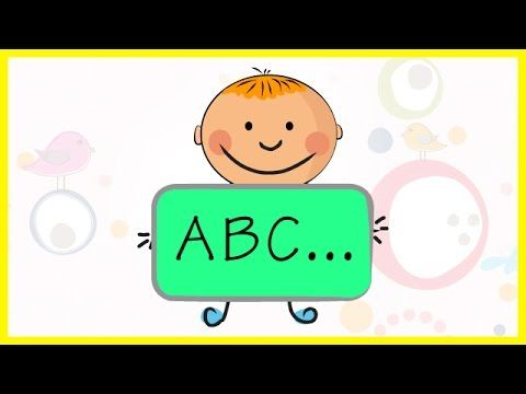 A to Z Preschool Learning on Blackboard animated Alphabets with sounds of the letters