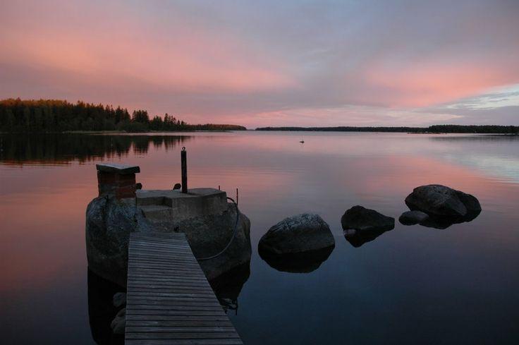 Summer Night at Ostmanskår, Vaasa, Finland