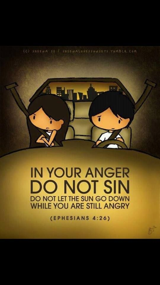 """""""And do not grieve the Holy Spirit of God, by whom you were sealed for the day of redemption. Let all bitterness, wrath, anger, clamor, and evil speaking be put away from you, with all malice. And be kind to one another, tenderhearted, forgiving one another, even as in Christ God forgave you Ephesians 4:30-32"""
