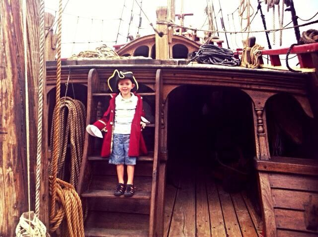 Be a pirate for the day and take a Tour of the Duyfken, a replica of the first European Ship to reach Australia.  Location: Fremantle Harbour. Suitable for: All ages Cost: Adults $10 Children $5 (ages 5 - 15 years) Family pass $25  Read our review here http://www.buggybuddys.com.au/magazine/read/duyfken-pirate-ship-fremantle-_529.html