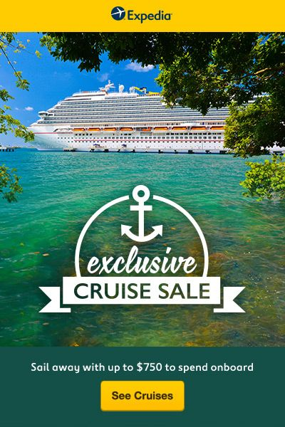 Best place for the cheapest cruise deals! Don't wait to take your next family vacation, take it now!