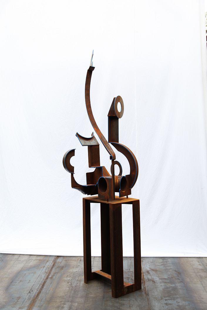 Die besten 25+ Stahlskulptur Ideen auf Pinterest Metallskulptur - designer holzmobel skulptur