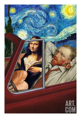 Art.fr - Reproduction d'art 'La nuit étoilée' par Barry Kite