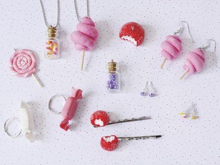 kit DIY mes bijoux gourmands - bonbons http://la-petite-epicerie.fr