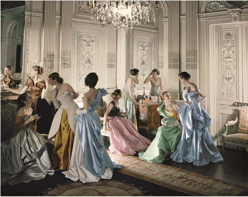 Charles James ball gowns, 1948, photographed by Cecil Beaton. This and the following images are all courtesy of the Metropolitan Museum of A...