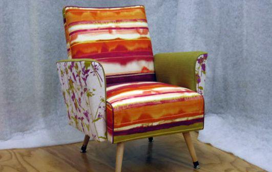 combining three fabrics from same colour-way - Living Room, Wellington