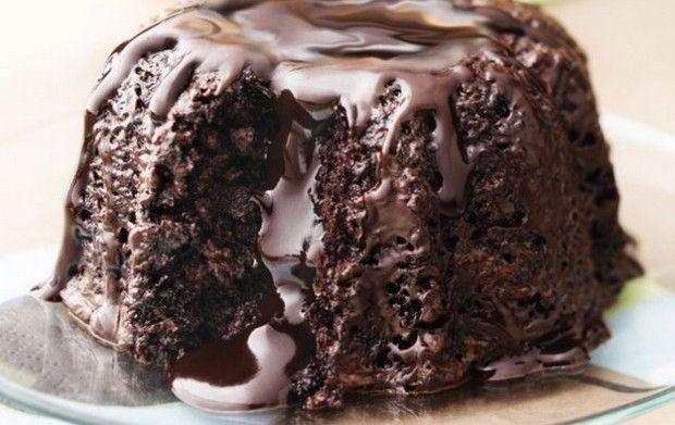 Φοβερό σοκολατένιο κέικ σε λίγα λεπτά!