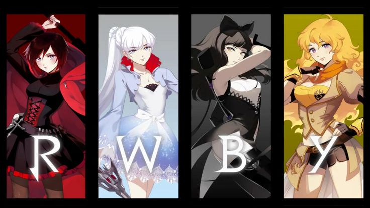 RWBY: Rooster Teeth Magical Girls