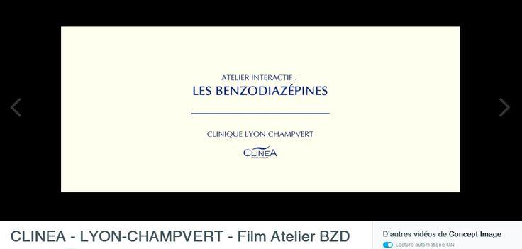 Pour la Clinique Champvert, ce film, réalisé par La Comm Nouvelle met en scène des patients (joués par des personnels de la clinique) dans un atelier visant à bien connaître les effets des benzodiazépines dans le cadre d'un traitement médical.