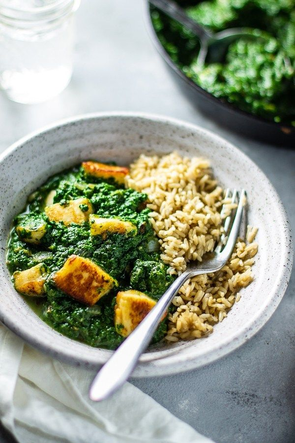 Halloumi Saag Paneer Lean Green Nutrition Fiend Saag Paneer Saag Paneer