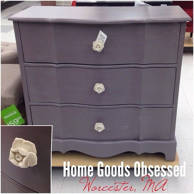 Home Goods Obsessed  See More  I m in a grey phase apparently  Dark gray  chest with rose pulls. 394 best Home Goods Obsessed images on Pinterest