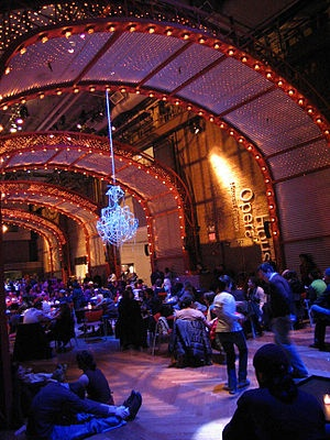 """DON'T be like us and live in Brooklyn all this time and never once visit the Howard Gilman Opera House for a show. We caught Rufus Wainwright's first opera """"Prima Donna"""" there last night. I have not seen an interior this opulent in some time. It was like red velvet cheesecake for the eyes."""