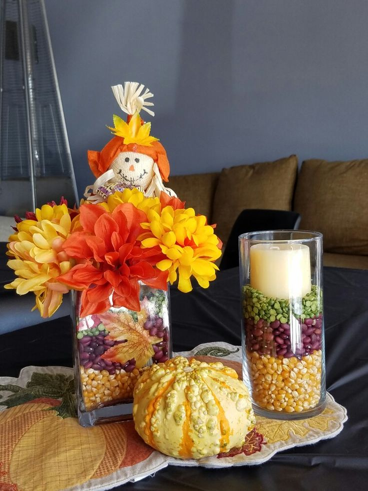 Simple fall center piece.