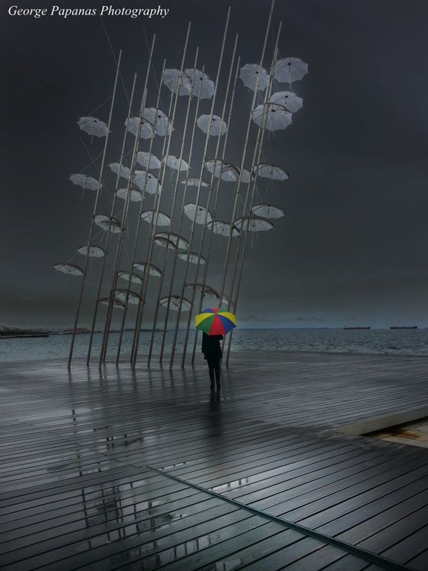 """Umbrellas"" - Thessaloniki - Greece"