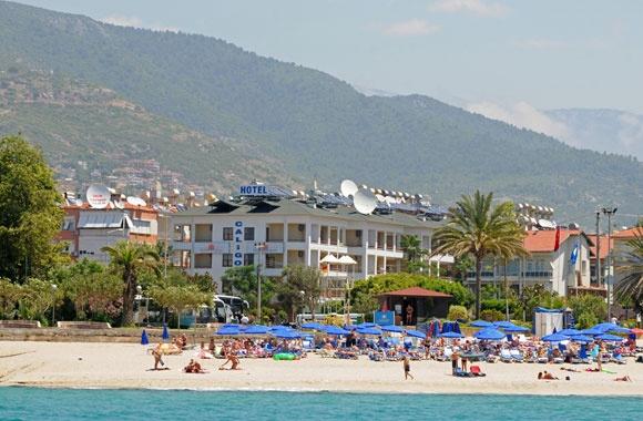 Ferie i Alanya i Tyrkia. Flybilletter og hotell.