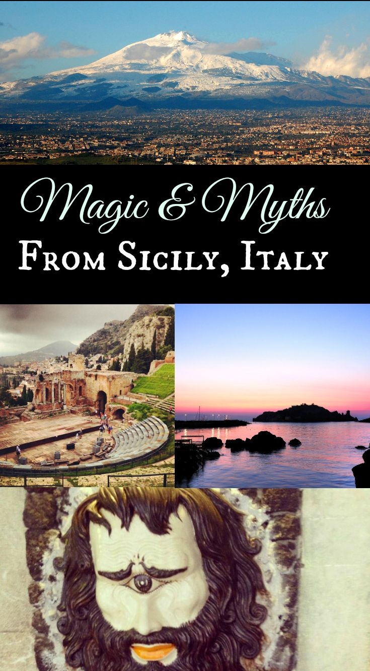 Mythology, legends, and magic to explore in Sicily, Italy