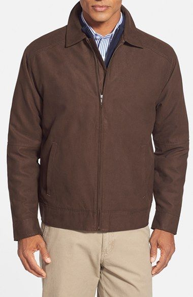 Cutter & Buck 'Roosevelt' Classic Fit Water Resistant Full Zip Jacket (Online Only) available at #Nordstrom