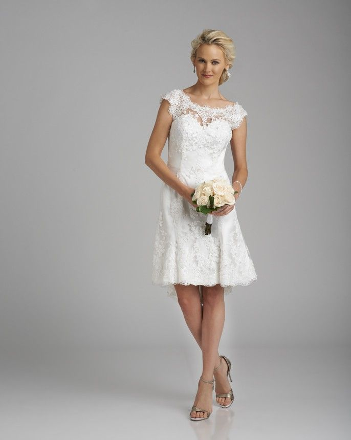 Fancy  Special Occasions by Bonny Bridal Perfect for the courthouse or beach wedding
