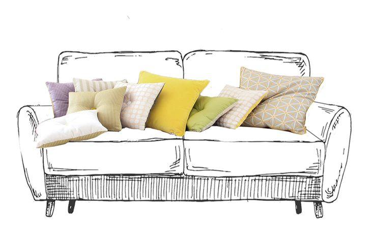 Come lavare i cuscini del divano? Qui tutti i consigli! Scala