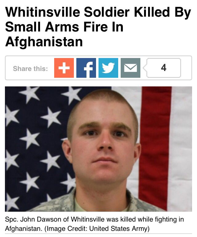 We mourn the death of another hero. April 8, 2015 he was ambushed ...