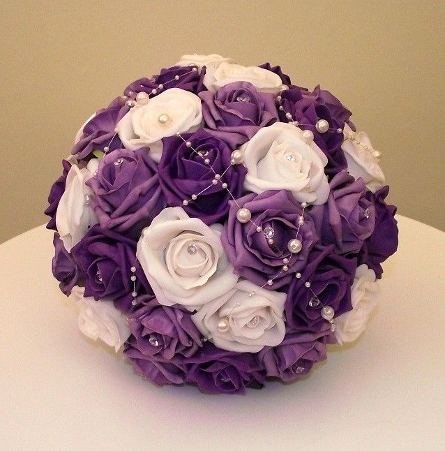 The 25 Best Purple Wedding Bouquets Ideas On Pinterest Flowers Light And Flower Bouquet