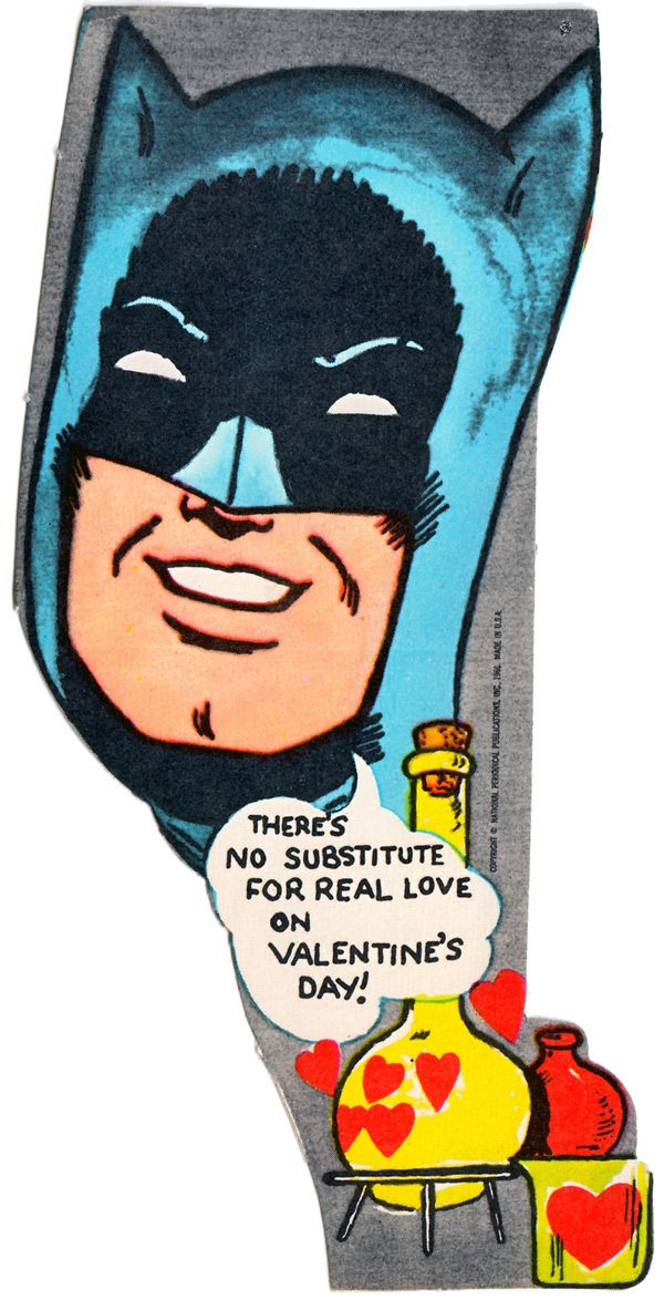 1966 Batman Valentines Are Charmingly Cheesy