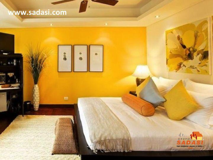 #conjuntosintegrales LAS MEJORES CASAS DE MÉXICO. El tono amarillo provoca un efecto visual agradable siendo perfecto para darle un toque distinto a las habitaciones. En tonalidadess claras le brinda calidéz a un espacio; se relaciona con la sabiduría, la paz y el descanso. Al adquirir una casa de nuestro desarrollo de Grupo Sadasi en LOS HÉROES QUERÉTARO, usted estará realizando una inversión segura. Pregunte por nuestras diferentes opciones de financiamiento. informes@sadasi.com