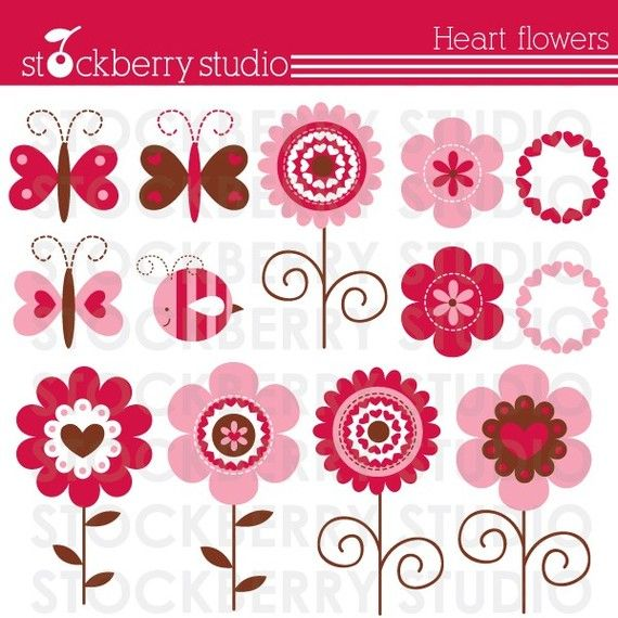 Hey, I found this really awesome Etsy listing at https://www.etsy.com/listing/61528774/heart-flowers-personal-and-commerical
