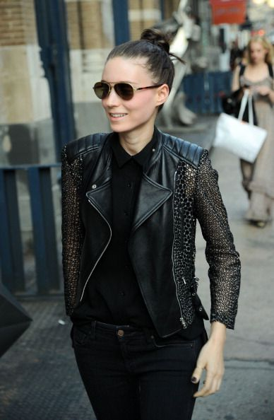 Actress Rooney Mara sighted on April 9, 2013 in New York City.
