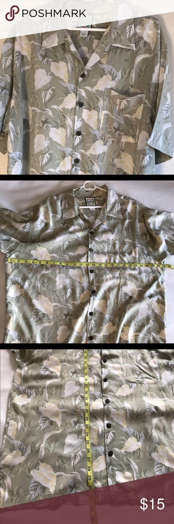 Original ACA Joe Caribbean shirt L Lightweight original ACA Joe shirt great condition ACA JOE  Shirts Casual Button Down Shirts
