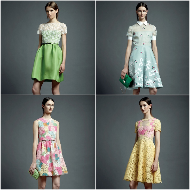 valentino resort 2013 via vogue