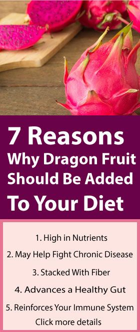Here Are 7 Reasons Why Dragon Fruit Should Be Added To Your Diet – Women Health and Beauty Tips