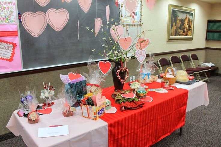 Gifts of Love Service Auction Relief Society Activity