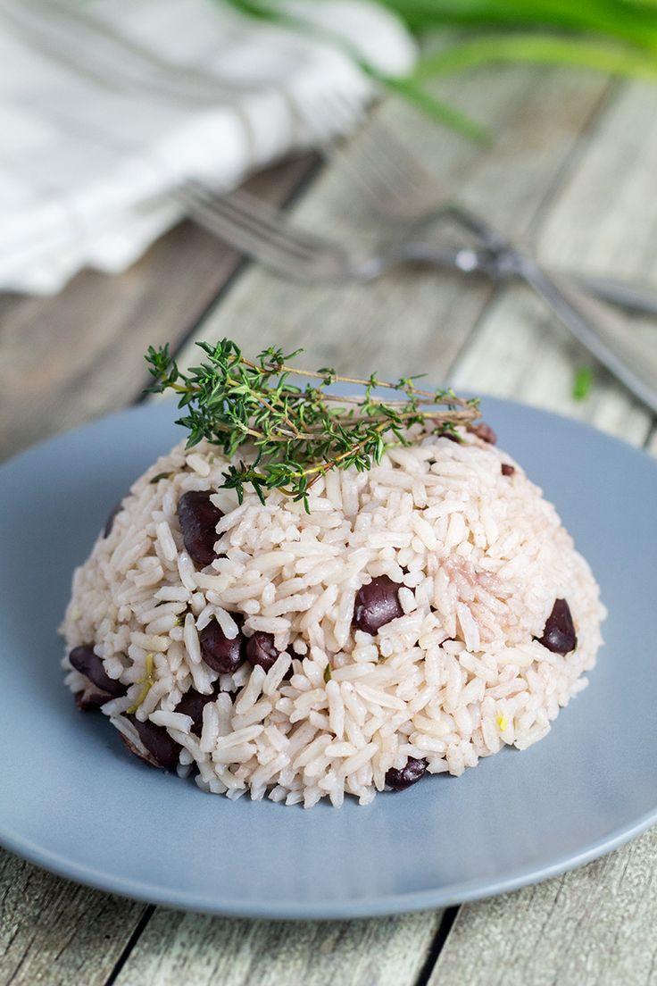 jamaican rice and peas  recipe  jamaican rice rice