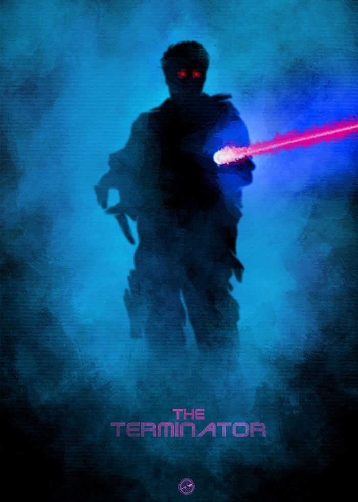 The Terminator by Mainger Germain
