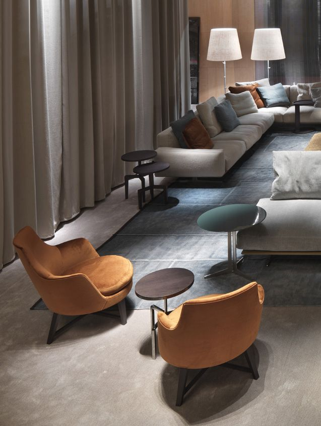 FLEXFORM GUSCIO #armchairs #design Antonio Citterio