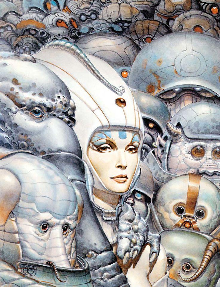 Juan Giménez es otro de mis dibujantes favoritos. Su estilo está más en la línea de Enki Bilal y, cómo no, muchas de sus temáticas son de carácter futurista.